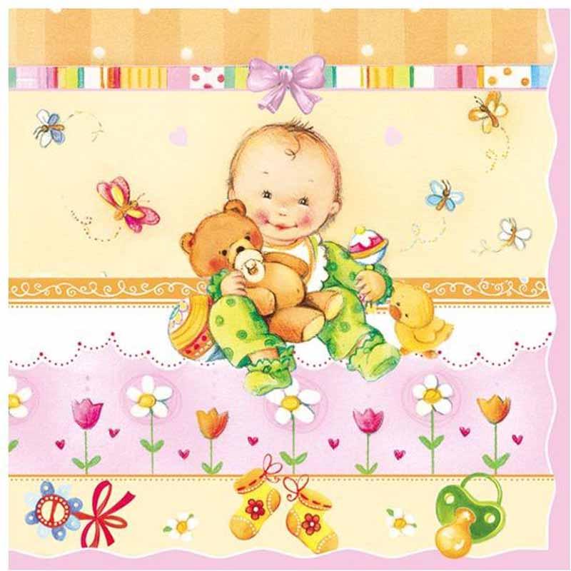 где купить Pol-Mak Салфетки Maki Baby 20 шт SLOG012302 по лучшей цене