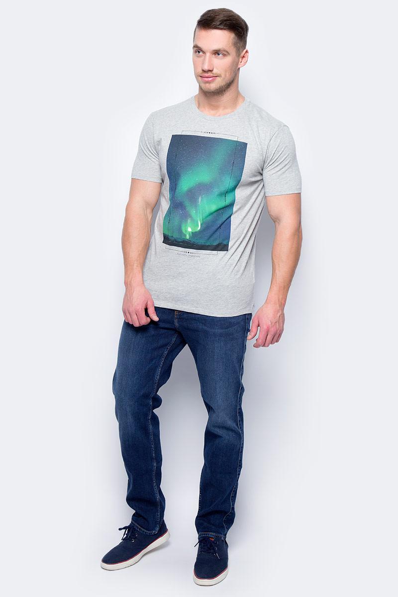 Майка муж United Colors of Benetton, цвет: серый. 3972J1G00_501. Размер XL (52/54)3972J1G00_501