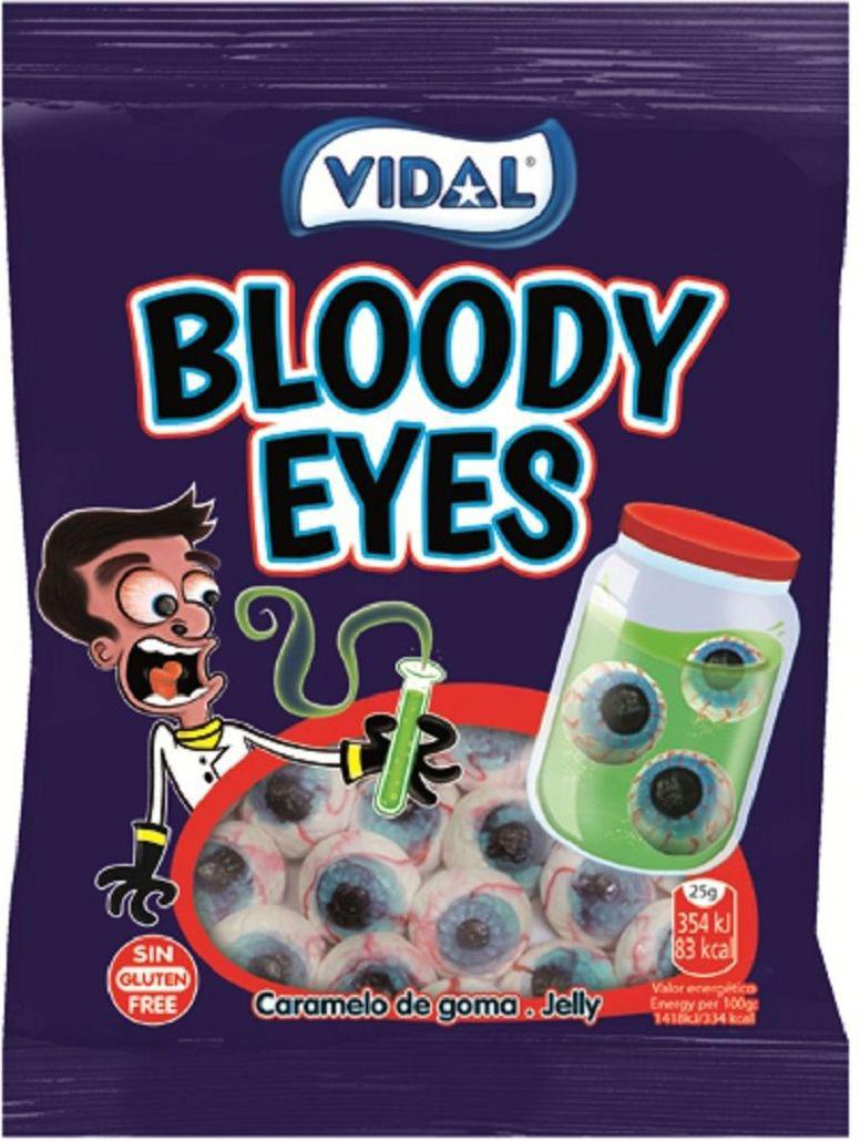 Vidal Глаза жевательный мармелад, 70 г valio oltermanni сыр сливочный 45
