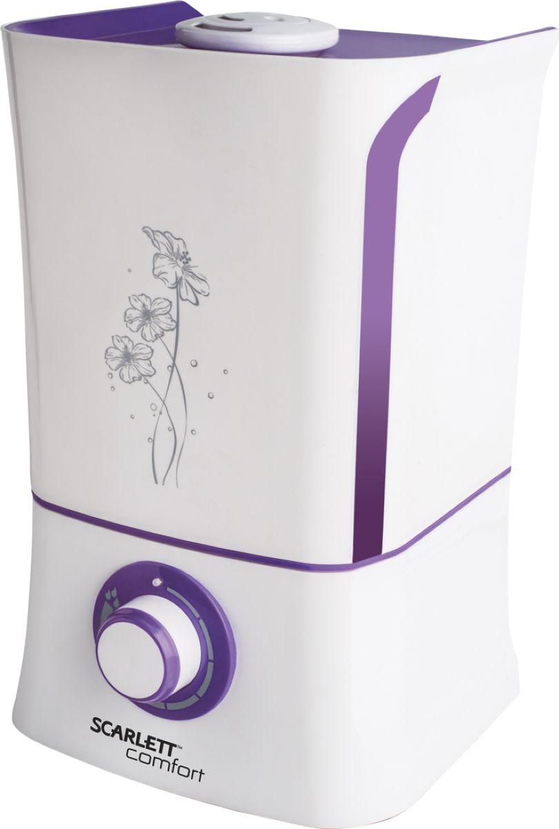 Scarlett SC-AH986M04, White Violet увлажнитель воздуха crane ee 5301 капля white увлажнитель воздуха
