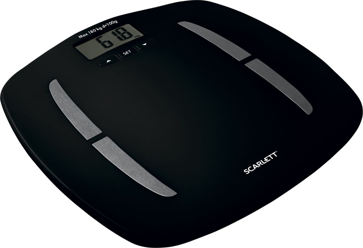 Scarlett SC-BS33ED83, Black напольные весы - Напольные весы