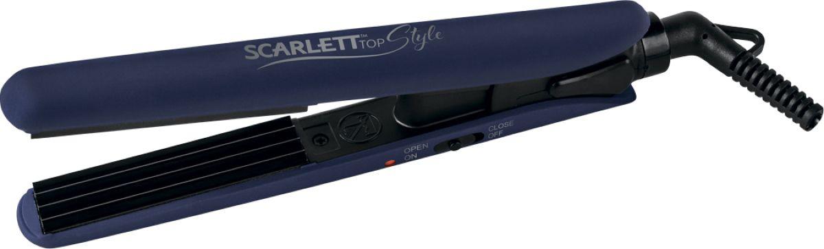 Scarlett SC-HS60601, Black Blue щипцы - Выпрямители и щипцы для волос