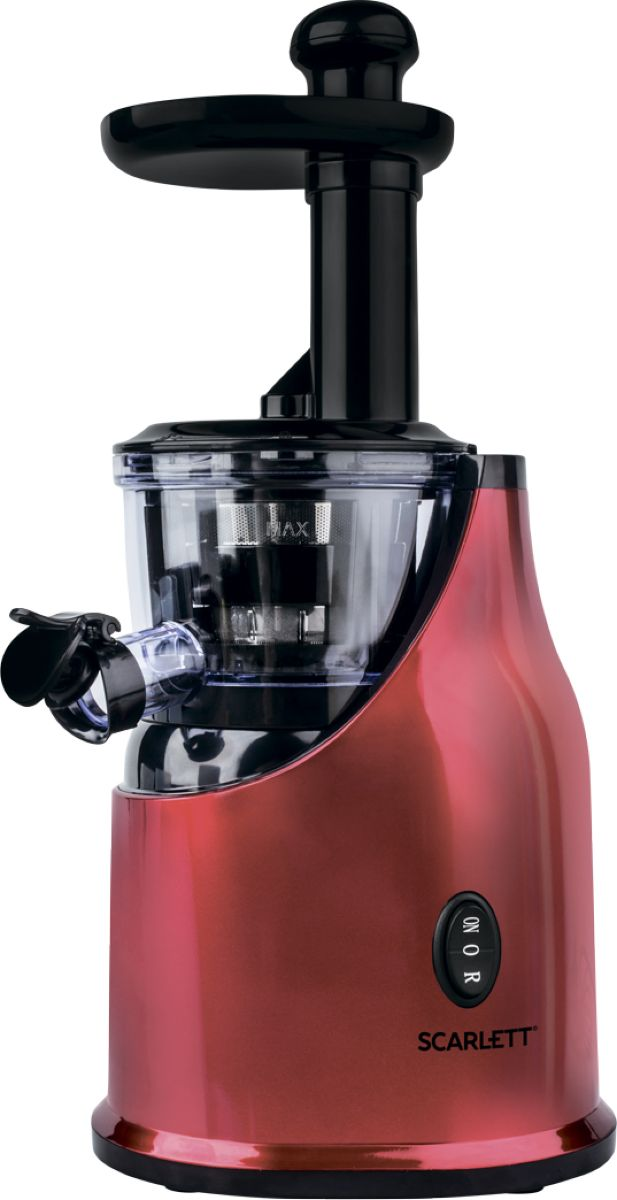 Scarlett SC-JE50S33, Red соковыжималка - Соковыжималки