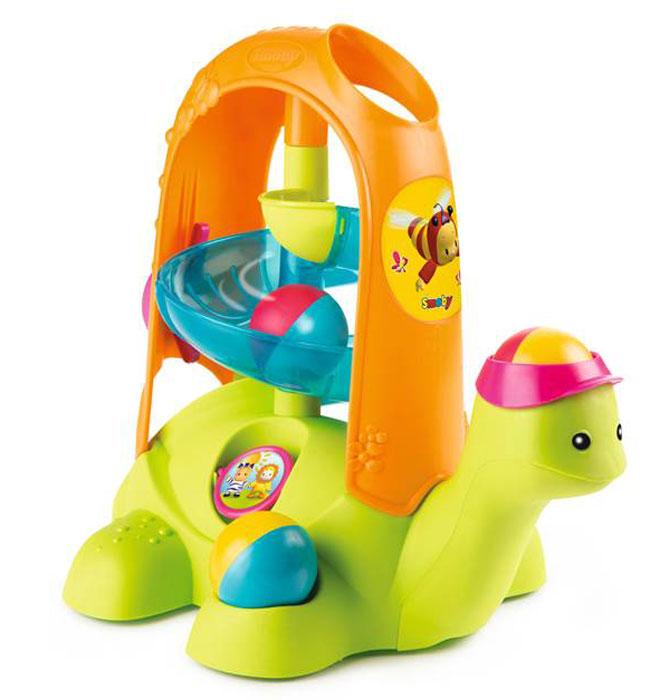 Smoby Развивающая игрушка Черепашка с шариками Cotoons погремушка калейдоскоп smoby cotoons