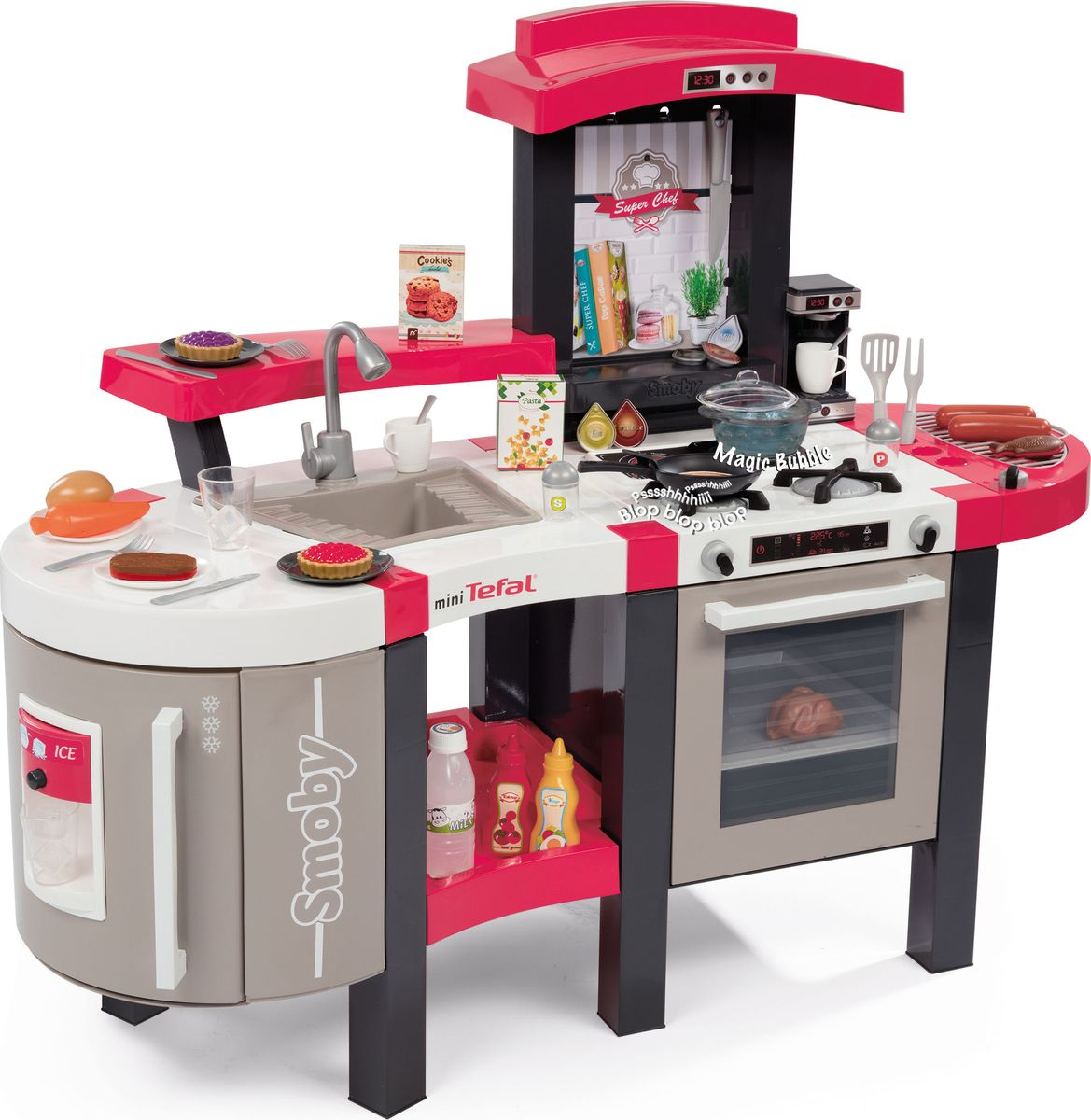 Smoby Игровой набор Кухня Tefal Super Chef Deluxe smoby игрушка блендер tefal smoby