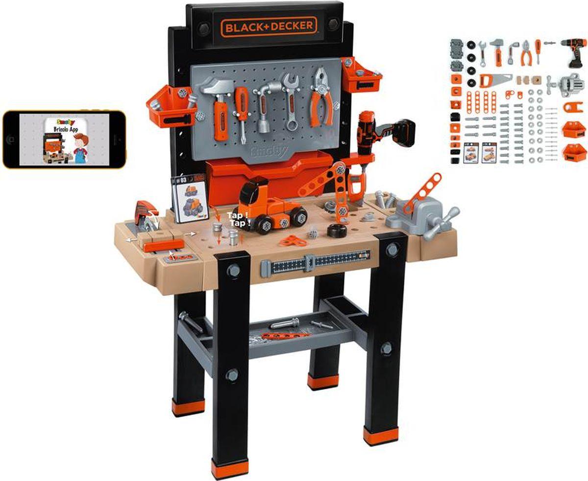 Smoby Игровой набор Мастерская с инструментами Ultimate B&D 95 предметов - Сюжетно-ролевые игрушки