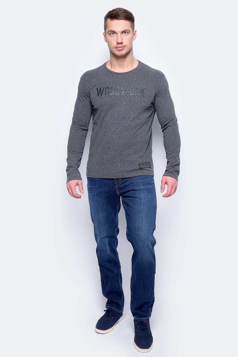 Лонгслив мужской United Colors of Benetton, цвет: серый. 3VR5J1G29_744. Размер L (50/52)3VR5J1G29_744Лонгслив United Colors of Benetton выполнен из натурального хлопка. Модель с круглым вырезом горловины и длинными рукавами.