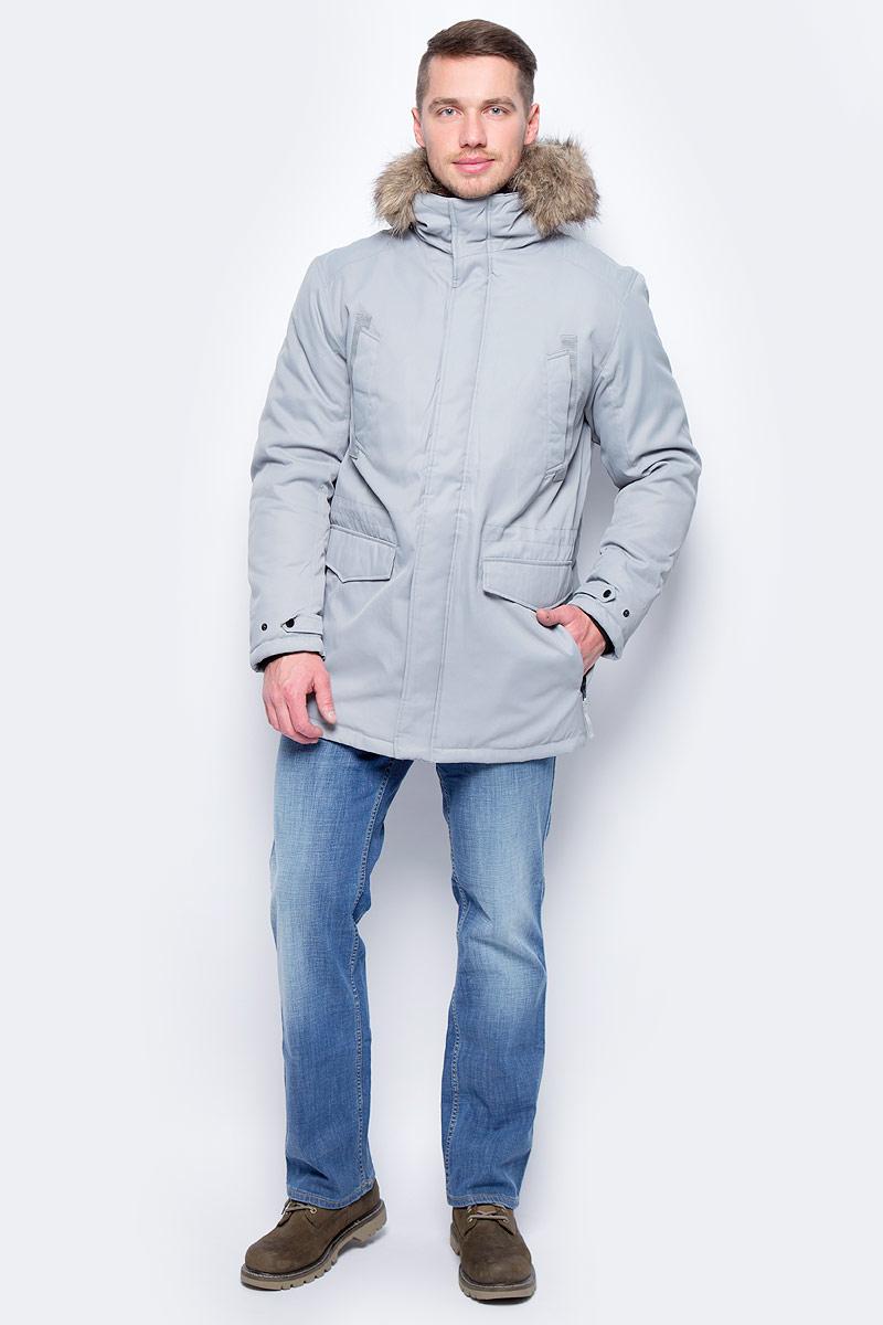 Куртка муж Jack & Jones, цвет: серый. 12124254_Monument. Размер XL (52)12124254_Monument