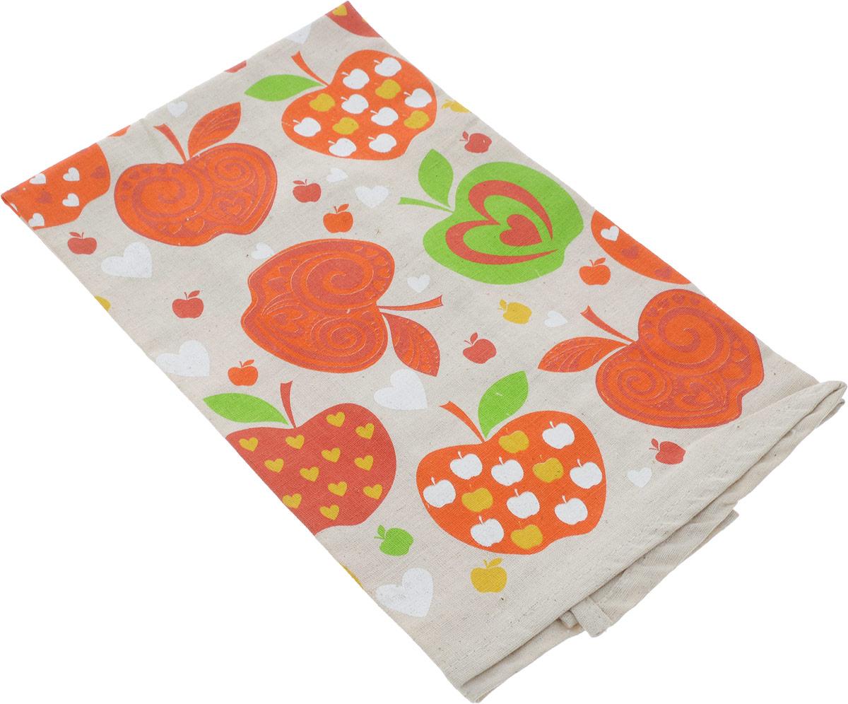 Полотенце кухонное LarangE От Шефа. Яблоки, 45 х 60 см627-003_яблокиКухонное полотенце LarangE От Шефа  изготовлено из льна и хлопка и оформлено оригинальным рисунком. Полотенце идеально впитывает влагу и сохраняет свою мягкость даже после многих стирок. Полотенце LarangE От Шефа  - отличный вариант для практичной и современной хозяйки.