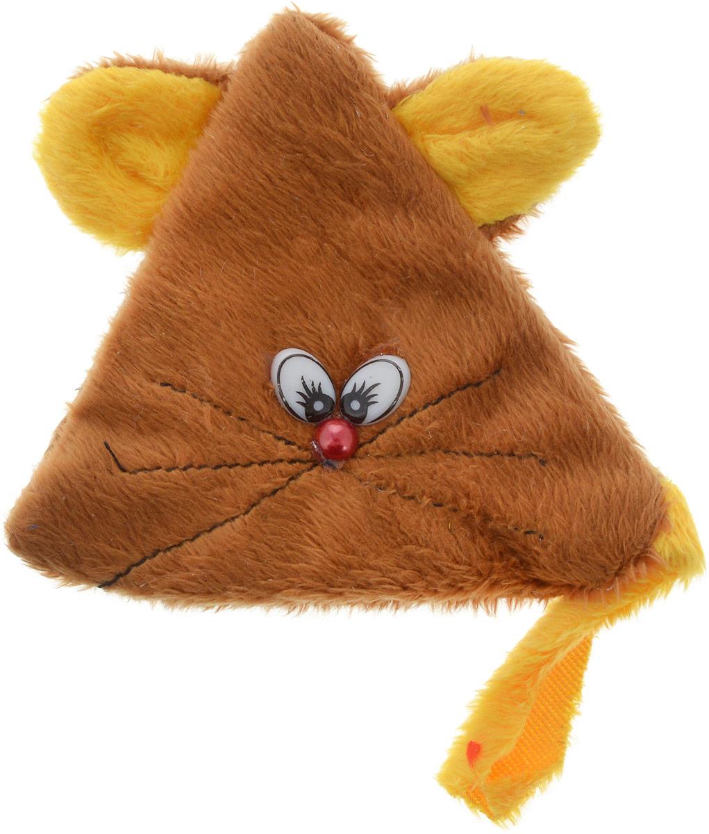Игрушка для кошек GLG Мышь на липучке, с экстрактом кошачей мяты, цвет: серый, желтыйGLG042_серый, желтыйИгрушка для кошек GLG Мышь на липучке выполнена из качественного текстиля. Играя с этой забавной игрушкой, маленькие котята развиваются физически, а взрослые кошки и коты поддерживают свой мышечный тонус. Изделие выполнено в виде треугольной мыши с пластиковыми глазками и длинным хвостиком. Внутри расположен мешочек с кошачьей мятой, который привлечет кошку. Внутреннее отделение закрывается на липучку.Кошачья мята - растение, запах которого делает кошку более игривой и любопытной. С помощью этого средства кошка легче перенесет путешествие на автомобиле, посещение ветеринарного врача, переезд на новую квартиру.