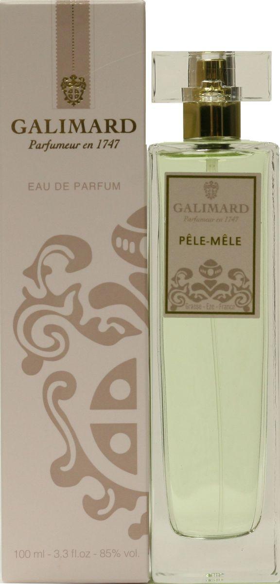 Galimard Pele-Mele Парфюмерная вода женская, 100 млgpl100pСвеже-фруктовая композиция открывается искристыми нотами зеленого чая и розы, нежно обрамленными мускусом и мягким сандаловым деревом. В основе парфюма заложена изысканная фруктовая база из персика и спелой сливы.