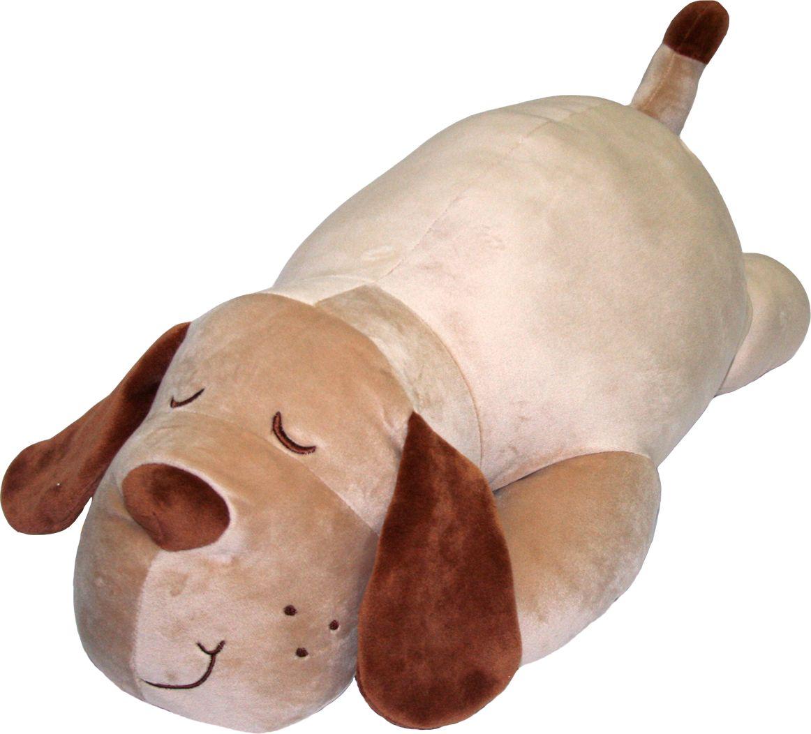 СмолТойс Мягкая игрушка Собачка Сплюшка 55 см 2341/БЖ/55 - Мягкие игрушки