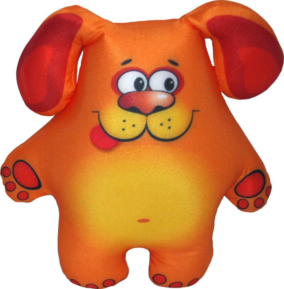 СмолТойс Мягкая игрушка Щенок-антистресс 31 см 2503/БЖ смолтойс мягкая игрушка зайка даша цвет салатовый 41 см