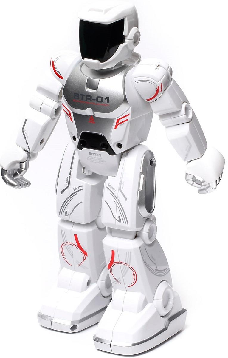 Silverlit Программируемый робот Blu-Bot цвет белый - Радиоуправляемые игрушки