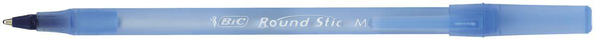 Bic Ручка шариковая Round Stick цвет синийB921403Ручка BIC Round Stick Classic имеет специальный вентилирующий колпачок и пишущий узел с уменьшенным шариком, обеспечивающий комфорт при письме. Тонкий, слегка тонированный корпус, соответствующий цвету чернил.