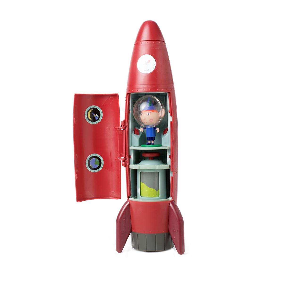 Бен и Холли Игровой набор Ракета со звуком с фигуркой Бена - Игровые наборы