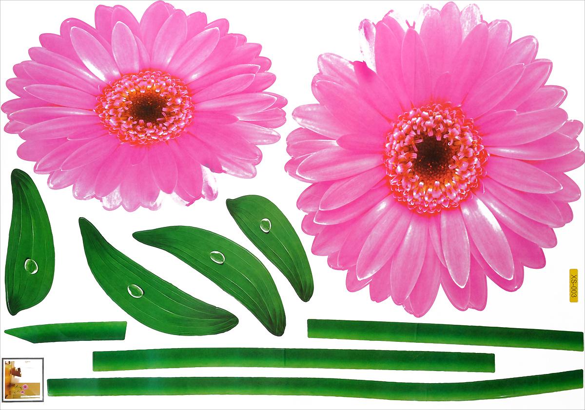 Декоративное настенное украшение Карамба Гербера розовая495Декоративное настенное украшение Карамба Гербера розовая, выполненное из бумаги в видегербер, поможет украсить дом и внести оригинальный штрих в интерьер. Украшение состоит из 10самоклеющихся элементов. С помощью такого украшения вы сможете оживить интерьер посвоему вкусу.
