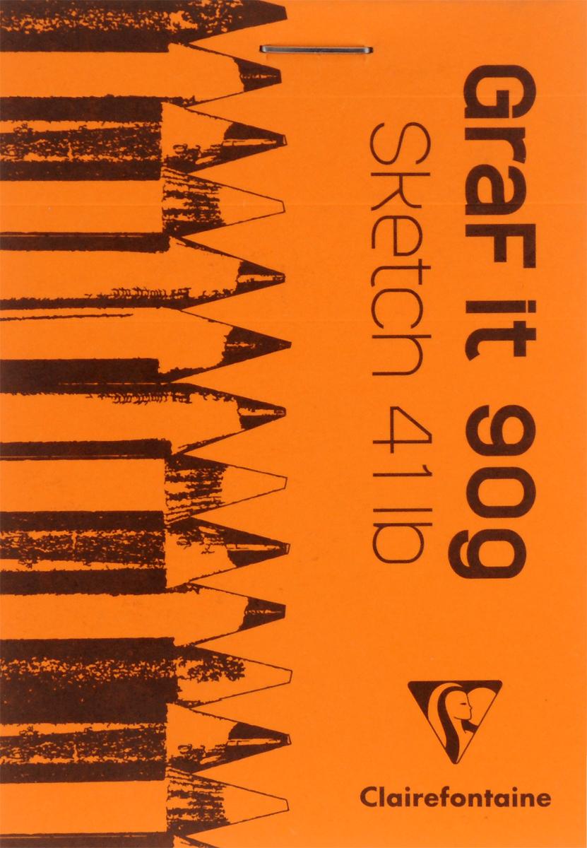 Блокнот Clairefontaine Graf It. Вид 2, для сухих техник, с перфорацией, цвет: оранжевый, формат A7, 80 листов96629С_оранжевыйОригинальный блокнот Clairefontaine Graf It. Вид 2 идеально подойдет для памятных записей, любимых стихов, рисунков и многого другого. Плотная обложка предохраняет листы от порчи и замятия. Блокнот формата А7 содержит 80 листов, чего хватит на долгое время.Такой блокнот станет забавным и практичным подарком - он не затеряется среди бумаг, и долгое время будет вызывать улыбку окружающих.