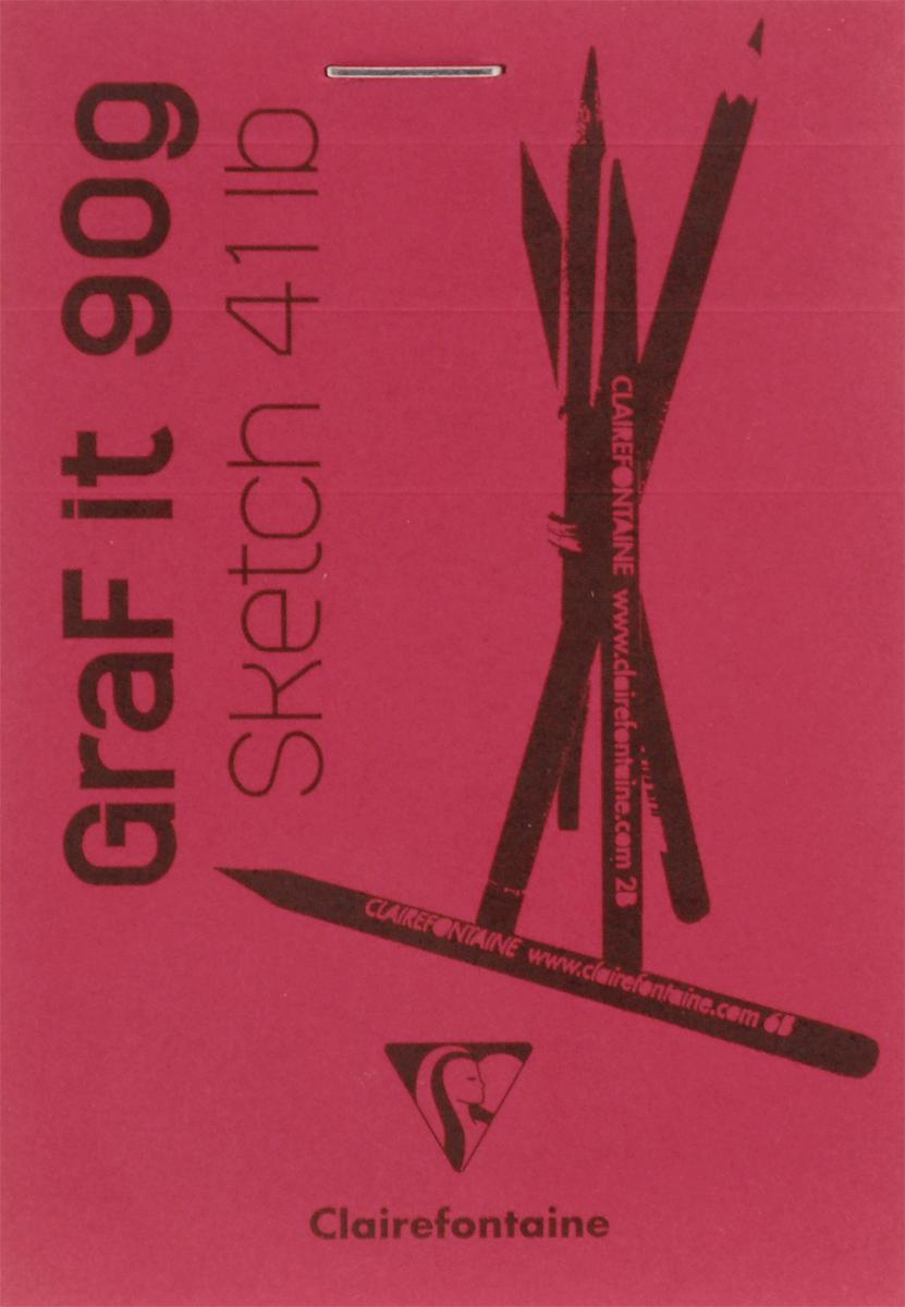Блокнот Clairefontaine Graf It, для сухих техник, с перфорацией, цвет: красный, формат A7, 80 листов96629С_красныйОригинальный блокнот Clairefontaine Graf It идеально подойдет для памятных записей, любимых стихов, рисунков и многого другого. Плотная обложка предохраняет листы от порчи и замятия. Блокнот формата А7 содержит 80 листов, чего хватит на долгое время.Такой блокнот станет забавным и практичным подарком - он не затеряется среди бумаг, и долгое время будет вызывать улыбку окружающих.