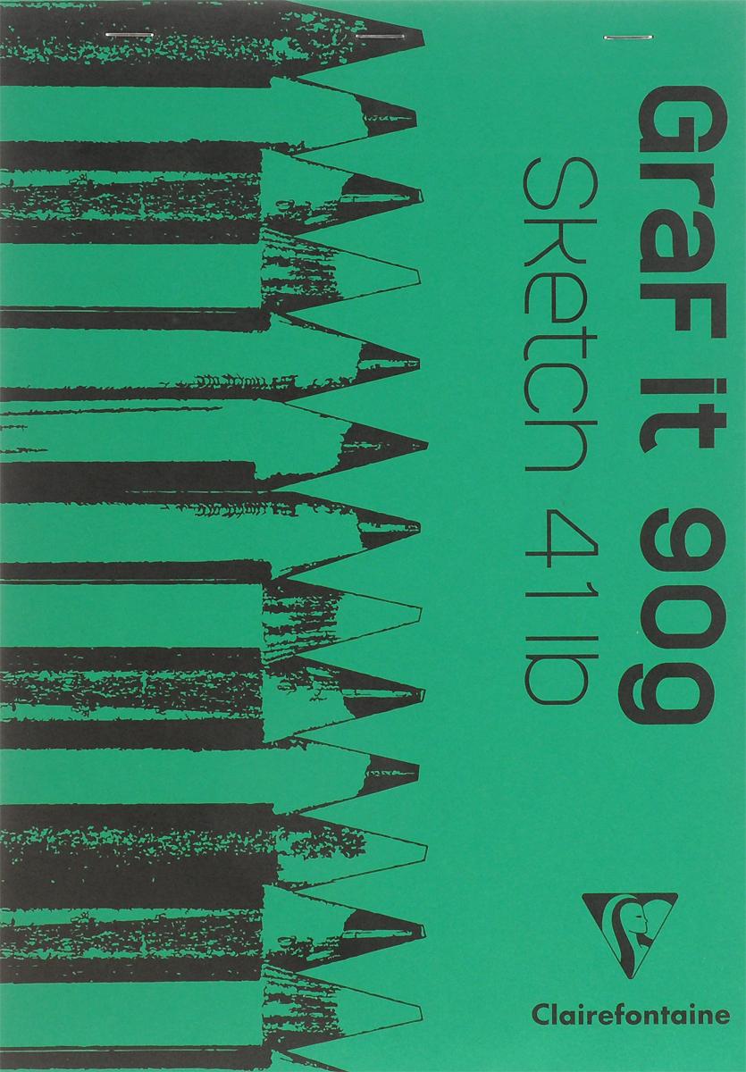 Блокнот Clairefontaine Graf It, для сухих техник, с перфорацией, цвет: зеленый, формат A4, 80 листов96623С_зеленыйОригинальный блокнот Clairefontaine Graf It идеально подойдет для памятных записей, любимых стихов, рисунков и многого другого. Плотная обложкапредохраняет листы от порчи изамятия. Такой блокнот станет забавным и практичным подарком - он не затеряется среди бумаг, и долгое время будет вызывать улыбку окружающих.