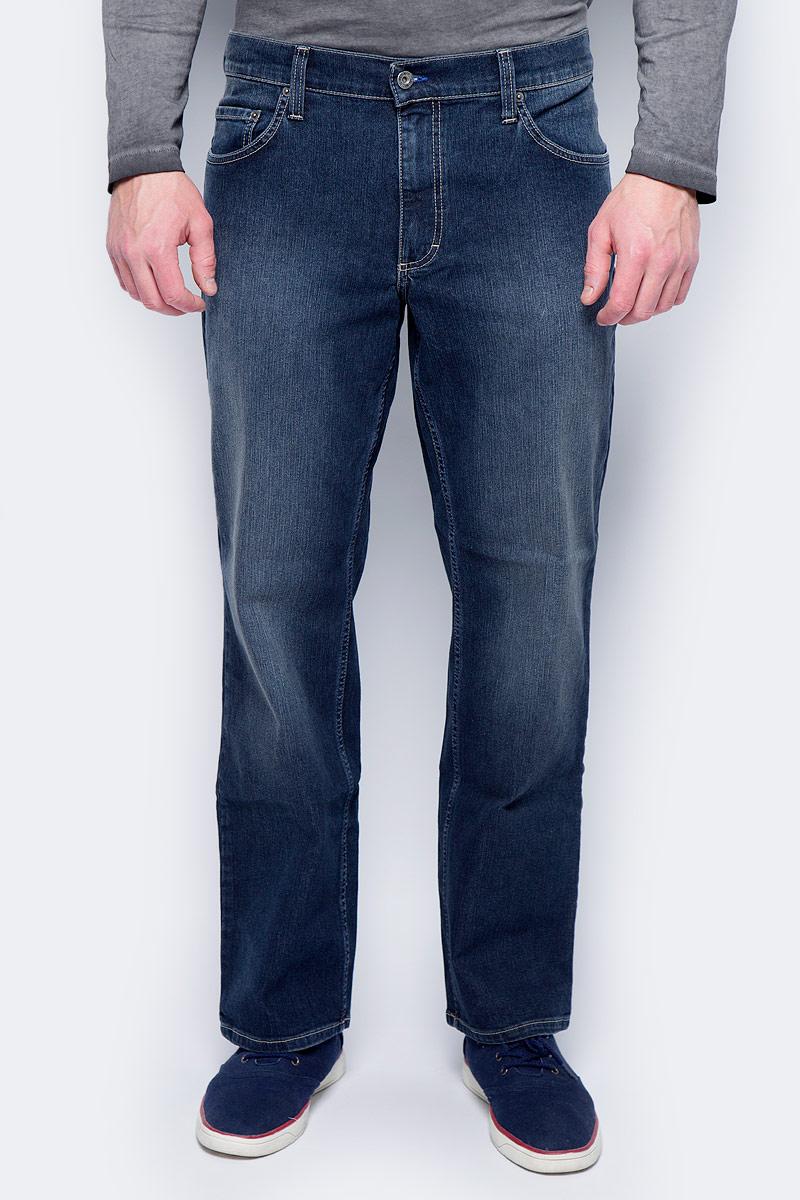 Джинсы мужские Mustang Big Sur, цвет: синий. 3169-5126-580_5000-881. Размер 32-34 (48-34) джинсы mustang mustang mu454empmi32