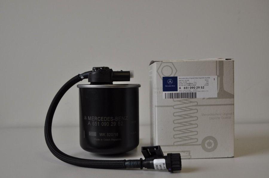 Топливный фильтр с влагоотд. (5ти конт. штекер)A6510902952