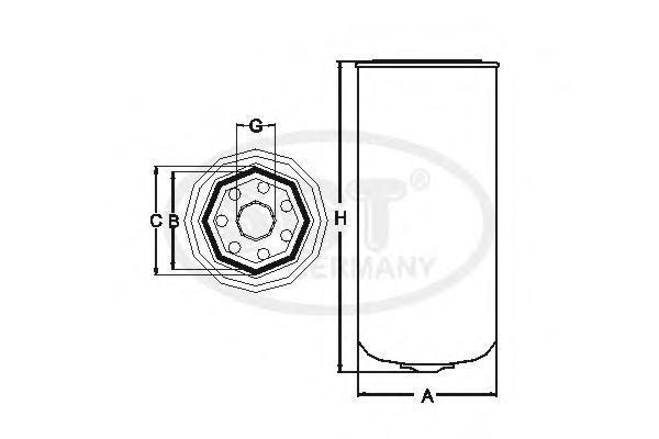 Топливный фильтр DAF/IKARUS?DAF TRUCKSST357