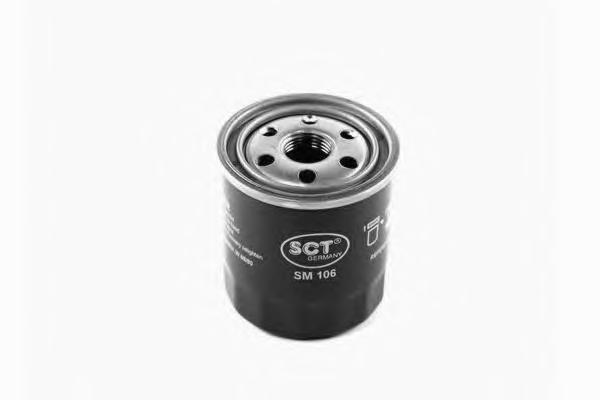 Масляный фильтр TOYOTA AVENSIS/COROLLA (E10/E12/E15)/CAMRY -01/YARIS/RAV 4 I/II/IVSM106
