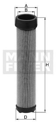 Вторичный Воздушный фильтр NEW HOLLAND CX860CF18211