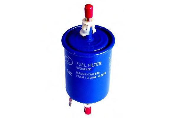 Топливный фильтр LADA KALINA/PRIORA/GRANTA/VW G5/GOLG PLUS/SKODA FABIA 99-07/OPEL ASTRA GST342
