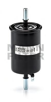 Топливный фильтр CHEVROLET AVEO//Kalos 1,2/1,4L 02- 96335719/96444649WK552
