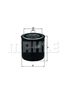 Сменный масляный фильтрOC140