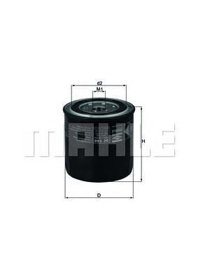 Фильтр масляный NissanOC140