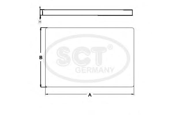 Салонный фильтр SKODA OCTAVIA 96-10/VW G3/G4/PASSAT 00-05