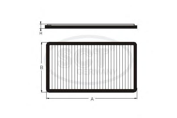 Салонный фильтр CHEVROLET?AVEO (T250/T255) 06-SA1140