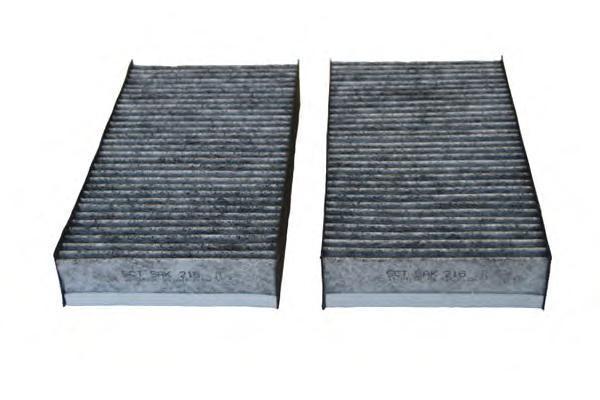 Салонный фильтр MERCEDES GL (X164) 06-/R (W251) 06-/M (W164) 05- (упак.2шт.) угольныйSAK216