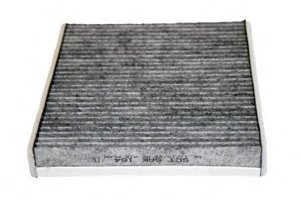 Салонный фильтр FORD FOCUS II 04-12/S40 II 04-/V50 04-/10-/C70 II 06-/10- угольныйSAK164
