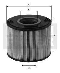 Купить Топливный фильтроэлемент без метал. частей OPEL ASTRA H/OMEGA B/MERIVA, Mann-Filter