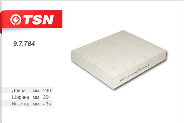 Фильтр салона пылевой CHEVROLET Cruze 1.697764