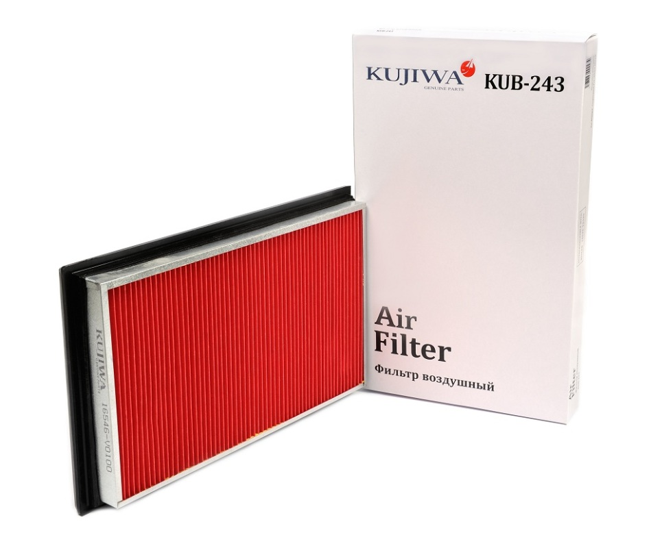 Фильтр воздушный KUB243 KUJIWA 16546V0100 NISSANKUB243