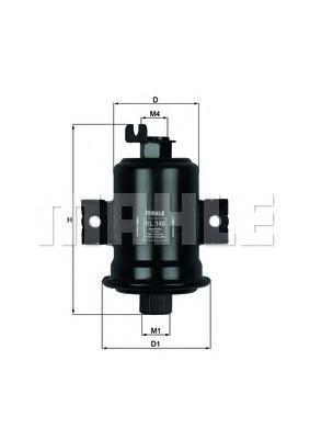 Фильтр топливный TOYOTA: COROLLA 92-97, COROLLA 97KL140