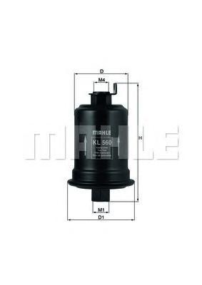 Фильтр топливный ToyotaKL560