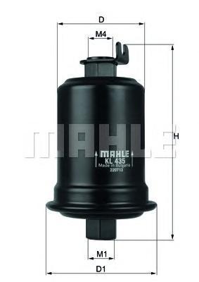 Фильтр топливный TOYOTA AVENSIS 1.6,1.8,2.0 -97KL435