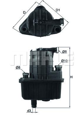 Фильтр топливный RENAULT: CLIO Grandtour 08-, CLIOKL469