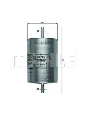 Фильтр топливный RENAULT: ESPACE III 96-98, LAGUNA 93-01, LAGUNA Grandtour 95-01, SAFRANE I 92-96, SKL95