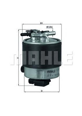 Фильтр топливный NISSAN: QASHQAI 1.5DCI/2.0CDI RKL44019