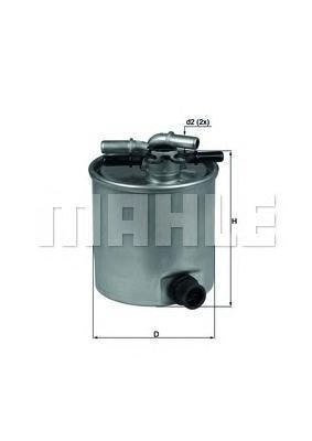 Фильтр Топливный NISSAN: QASHQAI 2.0DCI 07-, X-TRAKL44015