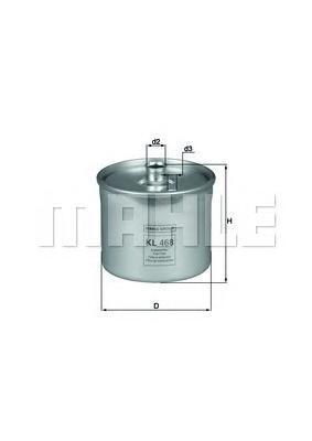 Фильтр Топливный Land RoverKL468