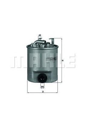 Фильтр топливный MB SPRINTER 2.7D 00-06KL195
