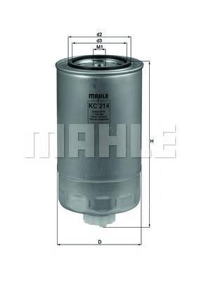 Фильтр топливный IvecoKC214